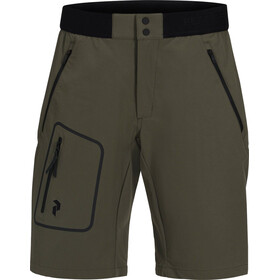 Peak Performance Ligth Softshell Shorts Herr terrain green